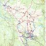 Stisykkelkart / Trailbikemap Skeikampen