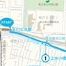 小平市ウォーキングマップ