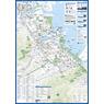 横滨观光指南携带地图