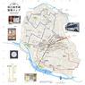 狛江市絵手紙散策マップ