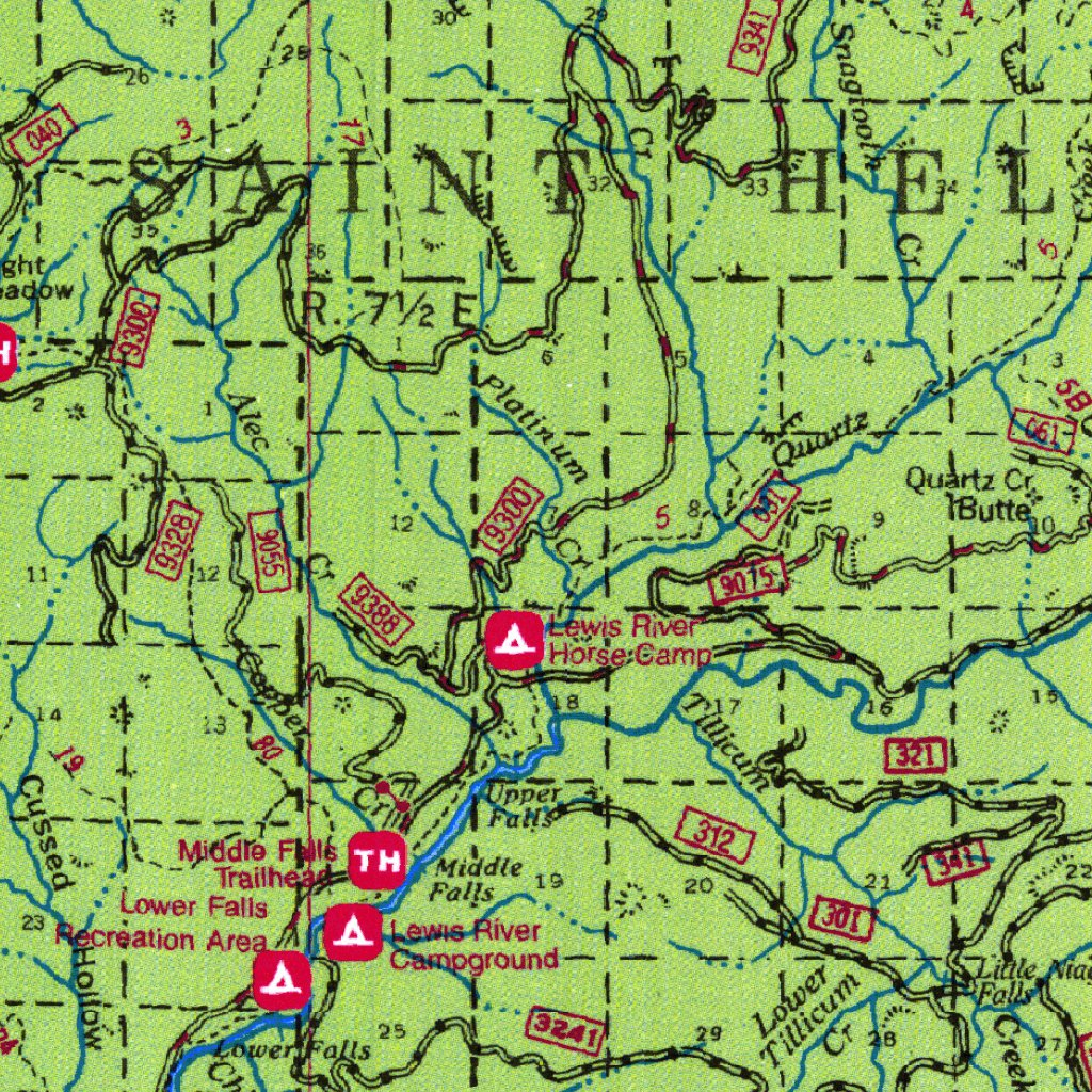 Gifford Pinchot National Forest Visitor Map - US Forest ... on illinois bike trail maps, black hills trail maps, pennsylvania trail maps, ohiopyle trail maps, benton mackaye trail maps, sequoia trail maps, yosemite national park trail maps, wenatchee trail maps, coronado trail maps, john muir trail maps, hickory run trail maps, caledonia trail maps, indian heaven wilderness trail maps, columbia river gorge trail maps, connecticut trail maps, custer trail maps, rogue river trail maps, mark twain trail maps, chugach trail maps, ricketts glen trail maps,