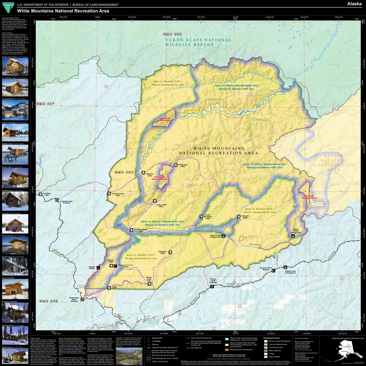 White Mountains National Recreation Area   Bureau of Land
