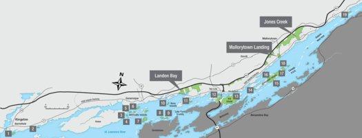 Thousand Islands National Park - Full Park Map - Parks ...