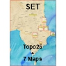 Koroni Set All - Topo25 + 7 Maps