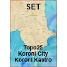 Koroni Set Topo25 + City10 + Kastro