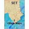 Koroni Set 5 Villages Maps