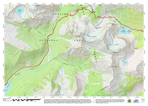 Pacific Northwest Trail - Complete Set