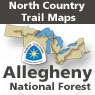 Allegheny National Forest (PA Maps 29-43)