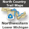 Northwestern Lower Michigan (MI Maps 91-124)
