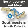 North Country Trail in Southeastern North Dakota (ND Maps 051 -082)
