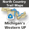 Michigan's Western UP (MI Map 1 - 32)