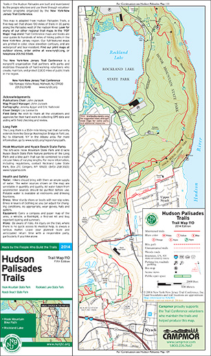 110 - Hudson Palisades (#3) - 2014 - Trail Conference