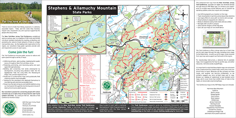Allamuchy Mountain & Stephens State Parks - NJ State Parks