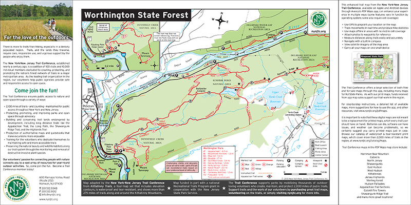 Worthington State Forest - NJ State Parks