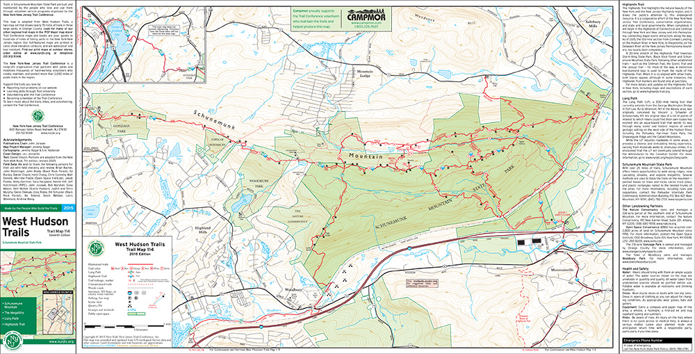 114 - West Hudson (West) - 2015 - Trail Conference