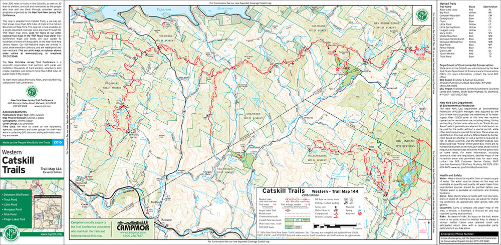 Catskills Maps on Avenza's PDF Maps App for Smartphones and Tablets on