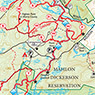 Jersey Highlands (West - Map 126) : 2016 : Trail Conference