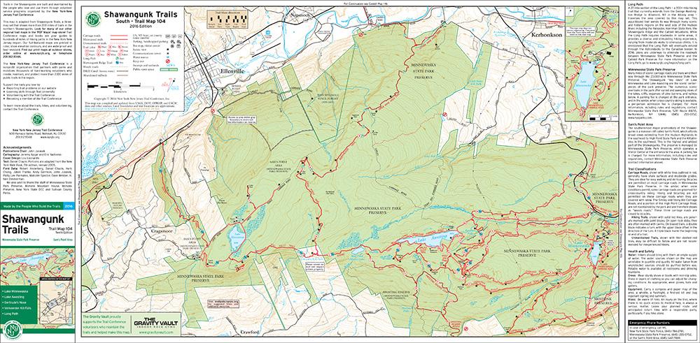 104 - Shawangunk (South) - 2016 - Trail Conference