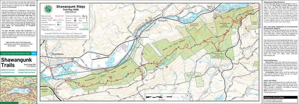 106B - Shawangunk Ridge Wurtsboro - 2016 - Trail Conference