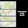 Shawangunk (4-Map Bundle) : 2019 : Trail Conference