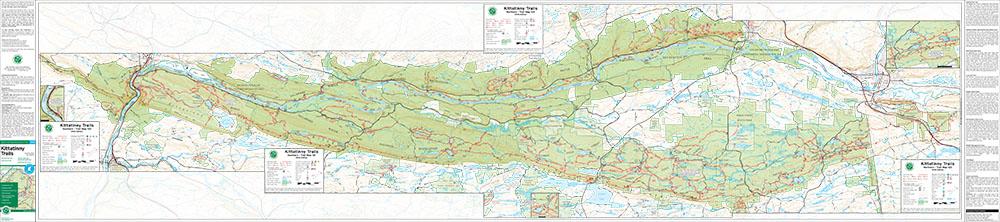 Bundle - Combined Kittatinny on Single Map - 2016 - Trail Conference