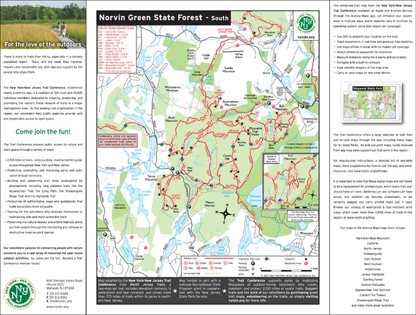 Norvin Green State Forest (South) - NJ State Parks