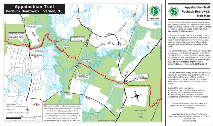 Appalachian Trail Pochuck Boardwalk Nj New York New Jersey