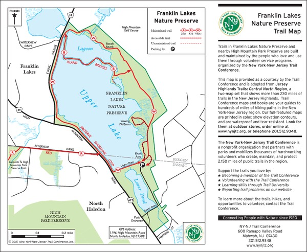 Franklin Lakes Nature Preserve, NJ