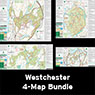 Bundle - 4-Map Westchester - 2020 - Trail Conference