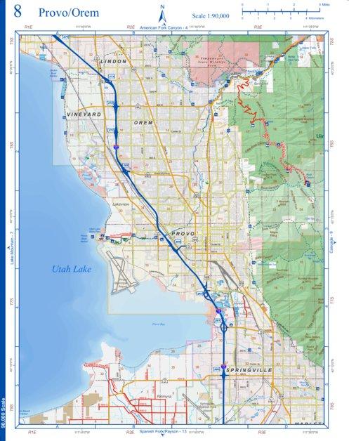08ProvoOremUtahCounty Utah County Avenza Maps