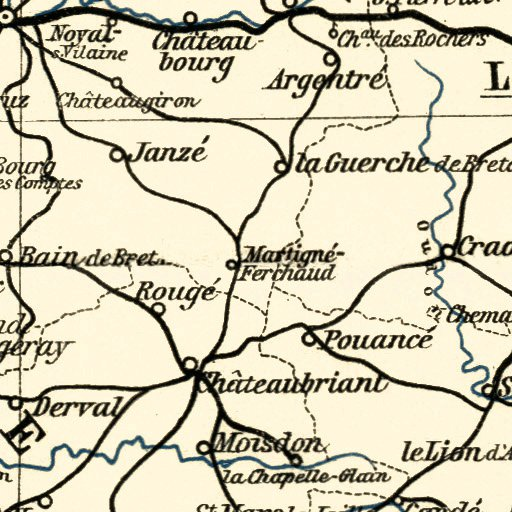 Map Of Northwest France.Northwest France 1913 Waldin Avenza Maps