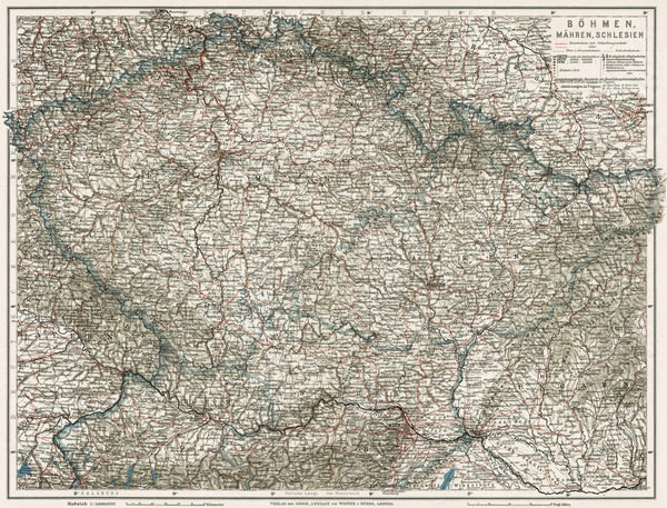 Bohemia, Moravia and Silesia, 1910