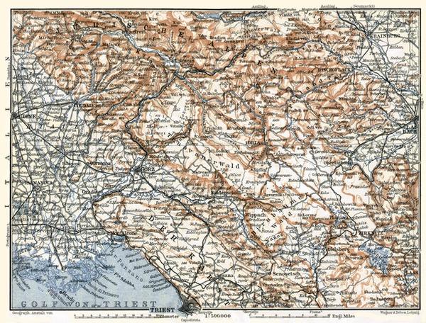 Österreichisches Küstenland (Adriatisches Küstenland, Austrian Littoral), 1910