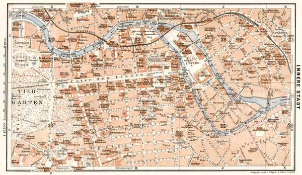 Avenza Maps - Map of berlin city centre