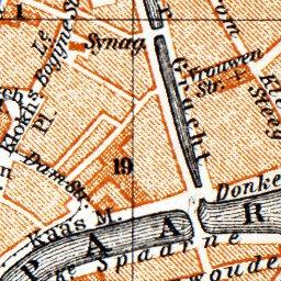 Haarlem city map, 1904 - Waldin - Avenza Maps