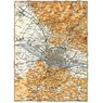 Florence (Firenze) environs map, 1898