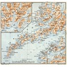Lofoten Islands map, 1910