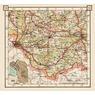 Estonian Road Map, Plate 18: Antsla. 1938