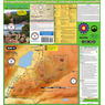 Geer Evans Carpenter CEG Mountain Bike Trail Map, Cortez Colorado