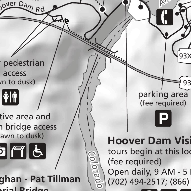 Hoover Dam And Vicinity Us National Park Service Lake Mead Nra