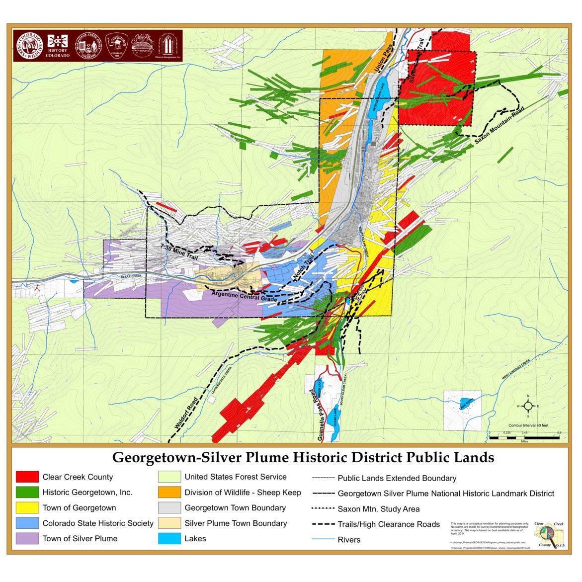 Georgetown Silver Plume Historic District Public Lands Clear Creek