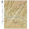 Bright Angel, Arizona  15 Minute Topographic Map - Color Hillshade