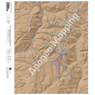 Needle Mountains, Colorado 15 Minute Topographic Map - Color Hillshade