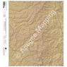 McKnight Mountain, New Mexico 15 Minute Topographic Map - Color Hillshade