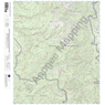 McKnight Mountain, New Mexico 15 Minute Topographic Map