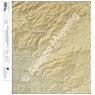 Agua Caliente Hill, Arizona 7.5 Minute Topographic Map - Color Hillshade