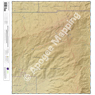 Mica Mountain, Arizona 7.5 Minute Topographic Map - Color Hillshade