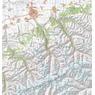 Karakol Valley 1:100 000