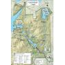 Parc national du Mont-Orford : Carte de vélo générale