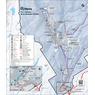 Parc national de la Jacques-Cartier - Carte des activités hivernales 2020